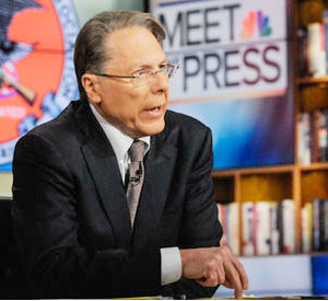 NRA CEO Wayne LaPierre argued that the U.S. is now spending $2 billion to train police officers in Iraq and asked why federal funds could not be spent to train school guards to protect schools in the United States.