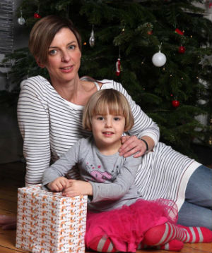 Four-year-old Mabel Munoz will be having a very special Christmas for surviving a particularly deadly stroke at the age of three.