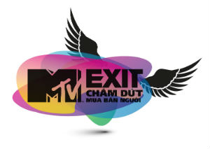 The logo for MTVExit in Vietnam.