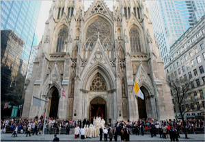 St. Patrick's Cathedral in New York City is a wondrous testimony in the midst of one of the great cities of the world.