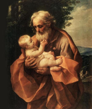 St Joseph and Jesus