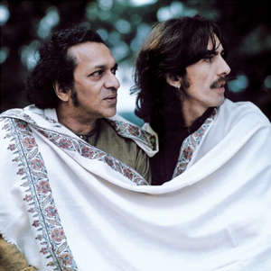 Ravi Shankar's close relationship with George Harrison, the Beatles lead guitarist, shot Shankar to global stardom in the Sixties.