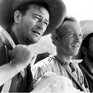 Harry Carey Jr.'s very first film with Ford was the John Wayne vehicle '3 Godfathers' (1948), which Ford dedicated to his father Harry Carey, the director's first patron and star.