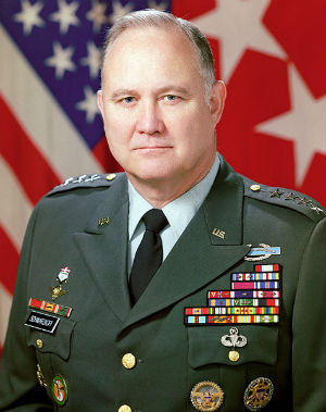 General Schwarzkopf presciently prepared a detailed plan for the defense of the oil fields of the Persian Gulf against a hypothetical invasion by Iraq, which occurred shortly afterwards.