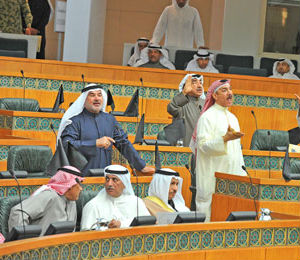 Kuwaiti Shiites think the bill doesn't go far enough. They insist that capital punishment be extended to those who also condemn 12 highly regarded Shiite imams. The only marginally less hard-line Sunnis still dominate parliament and have rejected the opposing sect's demands.