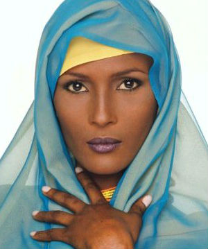 Model and writer Waris Dirie is an advocate against female genital mutilation. Her own experience with the practice in Somalia was dealt with in her book, 'Desert Flower.'