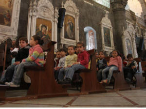 Syrian Christian children