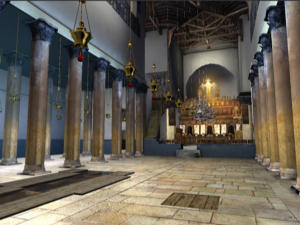 Church of the Nativity in Bethlehem - 3D virtual tour of the birthplace of Jesus Christ