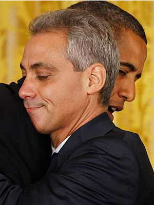 Former chief of staff to President Barack Obama, Chicago Mayor Rahm Emanuel, recently likened Obama's values and 'ability to see a clear road where everybody just sees fog' to President Abraham Lincoln.