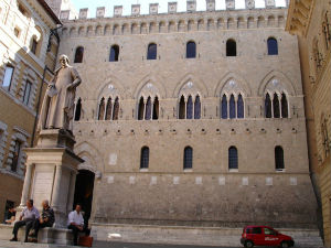 Banca Monte dei Paschi di Siena S.p.A. is the oldest surviving bank in the world and Italy's third largest bank.