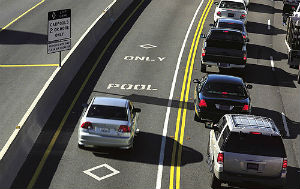 If corporations are people, why can't they use the carpool lane?
