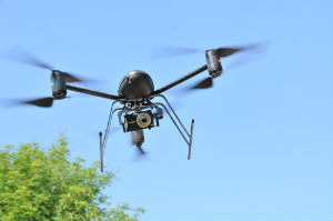 An image of the kind of drones the Orange County Sheriff's Department will be employing.