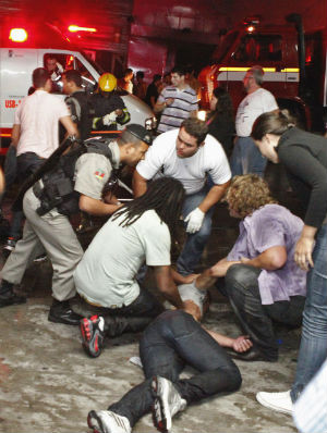 Many of those killed in the Kiss nightclub fire died from smoke inhalation, state-run Agencia Brasil reported. Still others were trampled in the rush for the exits.