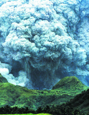 'For instance, it would have been impossible for the IPCC to predict if a volcanic eruption might temporarily cool the Earth, as the Mount Pinatubo eruption did in 1991,' says one critic of the report.