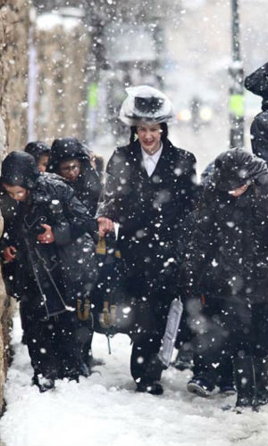 Jerusalem experienced a most delightful miracle when snow blanketed the capital of Israel. Children trampled through the fresh white powder, smashing snowballs into family and friends.
