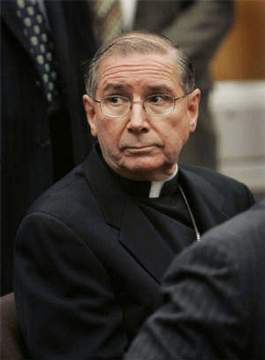Cardinal Mahony has been powerfully indicted in the court of public opinion.