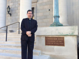 Fr Frank Pavone at Constitution hall