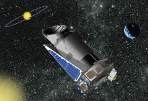 The Kepler Space telescope can monitor hundreds of stars simultaneously, recording evidence for planets around them.