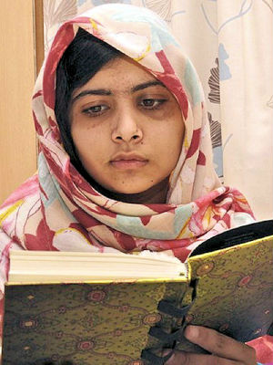Malala Yousafzai faced her ordeal with bravery and has made impressive physical strides, doctors say. 'She's very lively. She's got a great sense of humor,' he said.