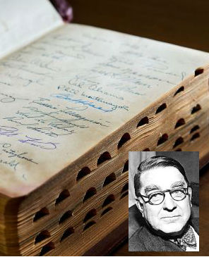 How did Branch Rickey's Bible end up in a donation bin in Sacramento? Branch Barrett Rickey, Rickey's grandson said it's a mystery to him as well. 'It's the first I've heard of the Bible,' Branch B. Rickey said by phone from Texas.