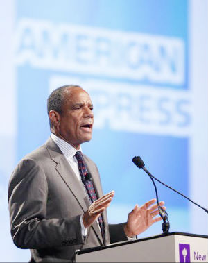 American Express Chief Executive Kenneth Chenault says the company is keen to invest in growth opportunities in a marketplace that's increasingly becoming defined by consumers' use of the Internet and mobile technology.