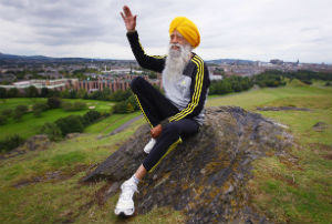 At 101, Fauja Singh is the world's oldest marathon runner.
