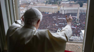 Pope Benedict's final Angelus message