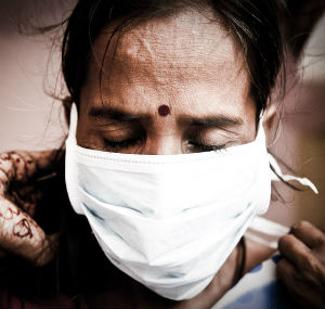 Two million people in India are diagnosed with tuberculosis annually.