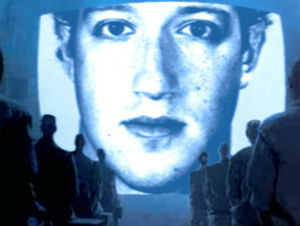 A remake of 1984 with Zuckerberg as Big Brother would be pretty priceless.