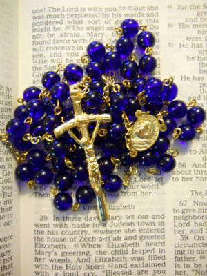 Catholics like to shop during this time of year for sacramental gifts, including rosaries, icons, and wedding gifts.