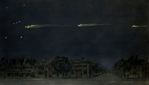 In 1913, a procession of fireballs moving in formation astounded observers from Canada to Brazil.