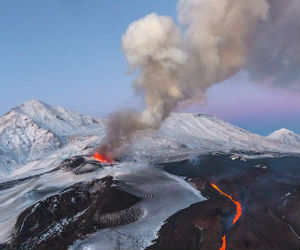 The peninsula has a high density of volcanoes and associated volcanic phenomena, with 19 active volcanoes being included in the six UNESCO World Heritage List sites in the Volcanoes of Kamchatka group, most of them on the Kamchatka Peninsula.