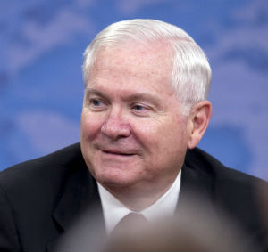 Former Defense Secretary Robert Gates assured that while innocent bystanders are killed by drones, 'the numbers, I believe are extremely small. 'You do have the ability to limit that collateral damage more than with any other weapons system that you have.'