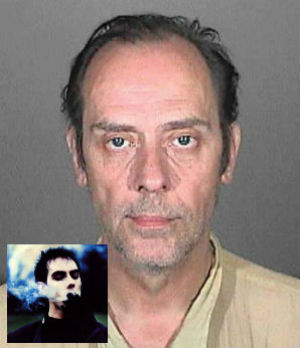 singer Pete Murphy is probably best known for the death disco classic, 'Bela Lugosi's Dead.' It seems that Murphy had a few dark, troubling personal issues as well. He's been arrested for methamphetamine possession after a police chase in Los Angeles.
