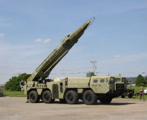 Missiles like this SCUD can deliver chemical weapons.