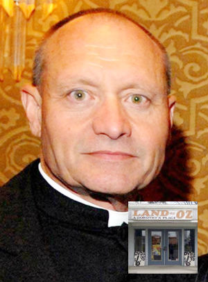 Suspended Roman Catholic priest, 61-year-old Kevin Wallin, in addition to drug trafficking, owned a pornography shop called Land of Oz & Dorothy's Place.