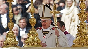 Pope Francis Celebrates Mass