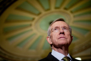 Harry Reid is trying to be pragmatic in his approach to a weapons bill, but the issue is too divisive.