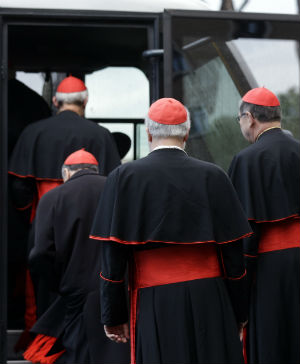 The tradition of putting the cardinals behind lock and key dates back to 1274, which began the longest conclave ever, lasting two years and eight months.