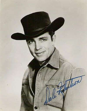 Acting in several uncredited movie roles in 1948 after he left the Army, Dale Robertson landed the plum role of outlaw Jesse James in 'Fighting Man of the Plains' in 1949.