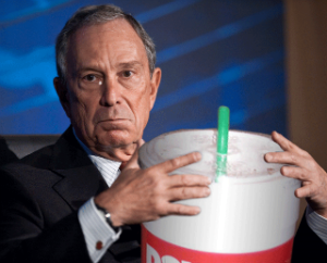 Bloomberg could really help soda sales if his ban passes.