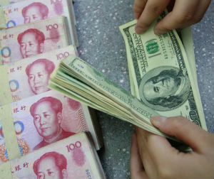 China typically lets the yuan appreciate faster before visits by officials from Western countries, which usually push for exchange rate liberalization.