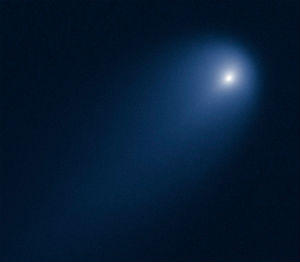 Hubble captured this image of Comet ISON which some think suggests the comet will perform well for viewers.