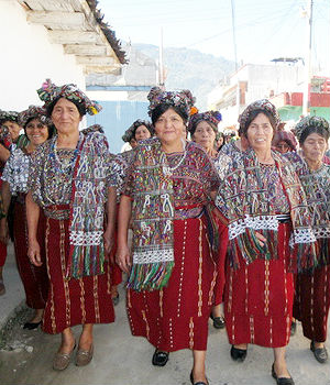 Living in the mountainous villages in the country's northwest and mostly isolated from the rest of Guatemala and the world, the Guatemalan Ixil number around 95,000, less than one percent of the nation's population.