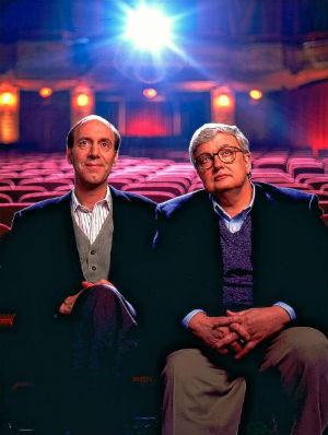 Roger Ebert, right, with cohost of 'At the Movies,' Gene Siskel. Ebert insisted that he and Siskel, in all their years, were never social, and would only nod to one another if they spotted the other one riding their elevator.
