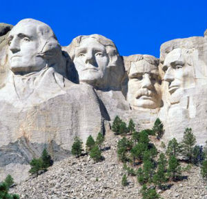 The home of Mount Rushmore, South Dakota funds itself through four percent sales and use tax, a $0.22-per-gallon gas tax, and fees on vehicles, but has no corporate income tax.