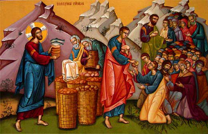 FRIDAY HOMILY: The 5,000 Fed - Miracle on the Mountain - Year of ...