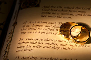 The Bible contains the world's oldest marriage contract.