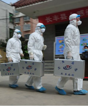 China was the epicenter of the SARS epidemic in 2003 which killed several hundred people worldwide. To date, the port city of Shanghai has had seven H7N9 deaths, more than any other city.