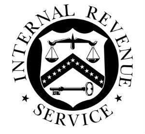 The IRS doesn't have the form with the Fourth Amendment on it.